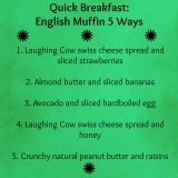 English Muffin Breakfasts