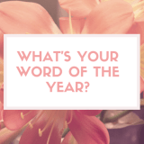 What's your word of the year-