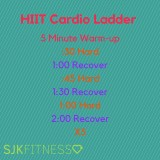 HIIT Cardio Ladder