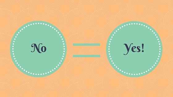 No = Yes!