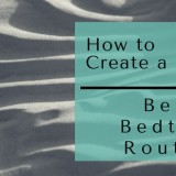 better bedtime routine