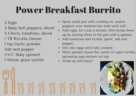 Power Breakfast Burrito