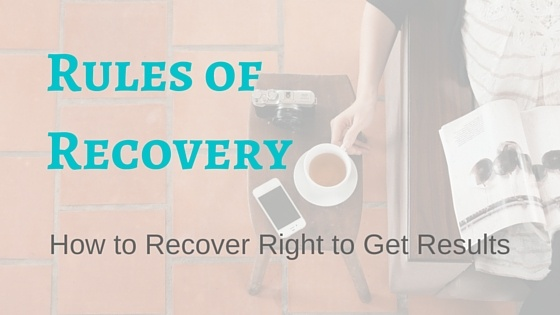 Rules of Recovery