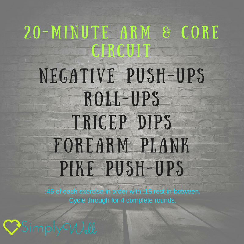 20-minute-arm-core-circuit