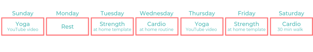 easy at home exercise routine for the first trimester