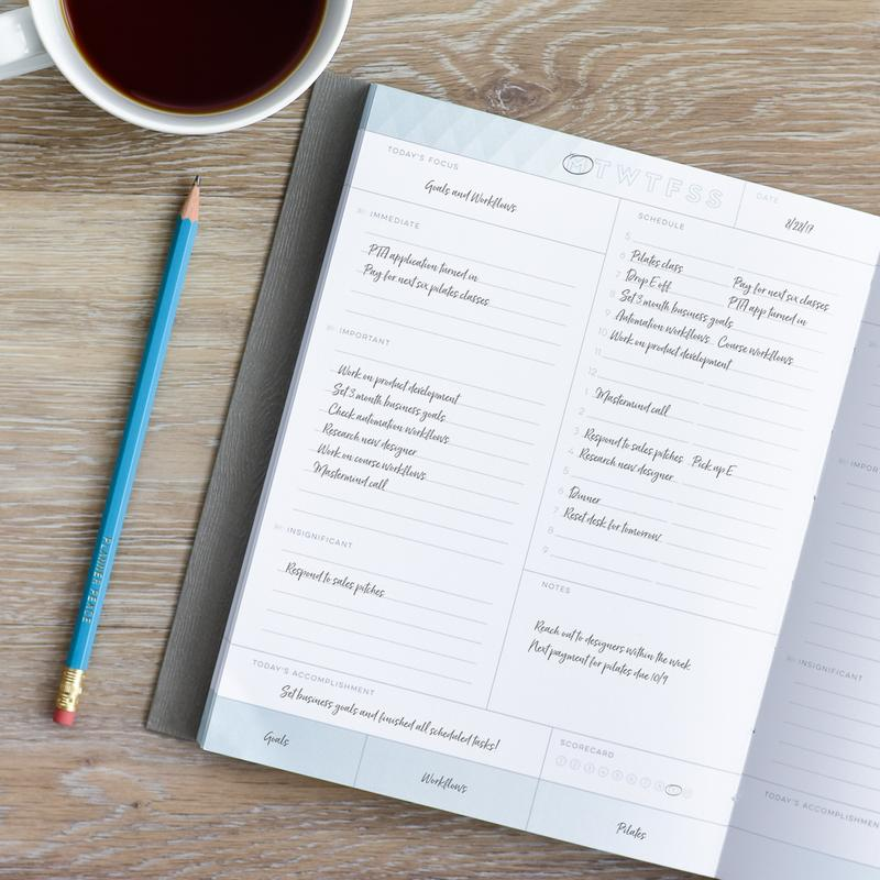 inkwell press daily planner