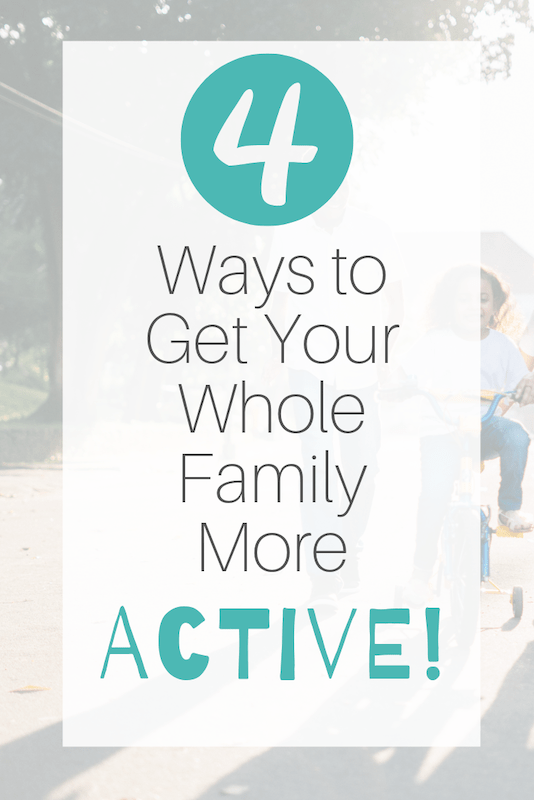 how to get your family more active