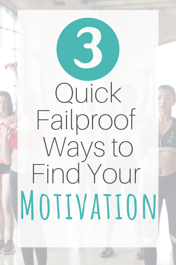 quick ways to find your motivation