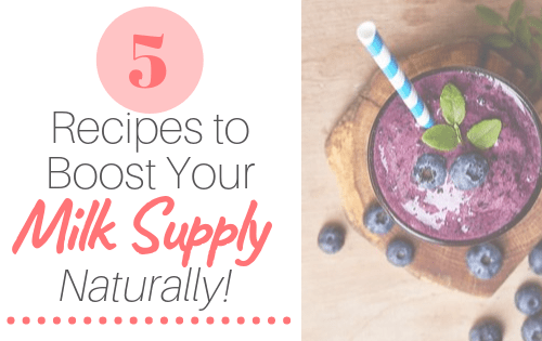 5 recipes to boost milk supply