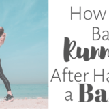 postpartum running plan