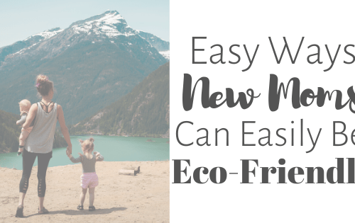 ways moms can be eco-friendly